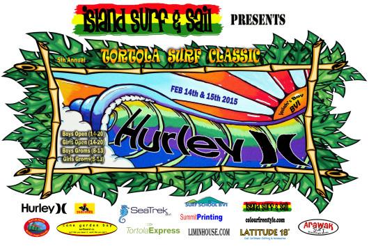 Tortola Surf Classic 2015