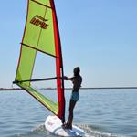 Windsurfing in BVI