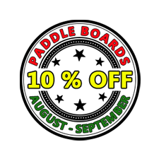 Standup Paddleboards Promo August - September 2016